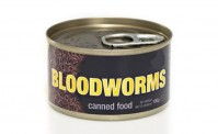 Bloodworms canned food 100g.