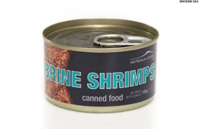 Artemia canned food 100g.